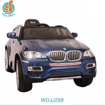 Wdjj258 Official Licensed Bmw X6 Kids Electric Car Buy X6 Kids Electric Car Kids Electric Car Electric Car Product On Alibaba Com
