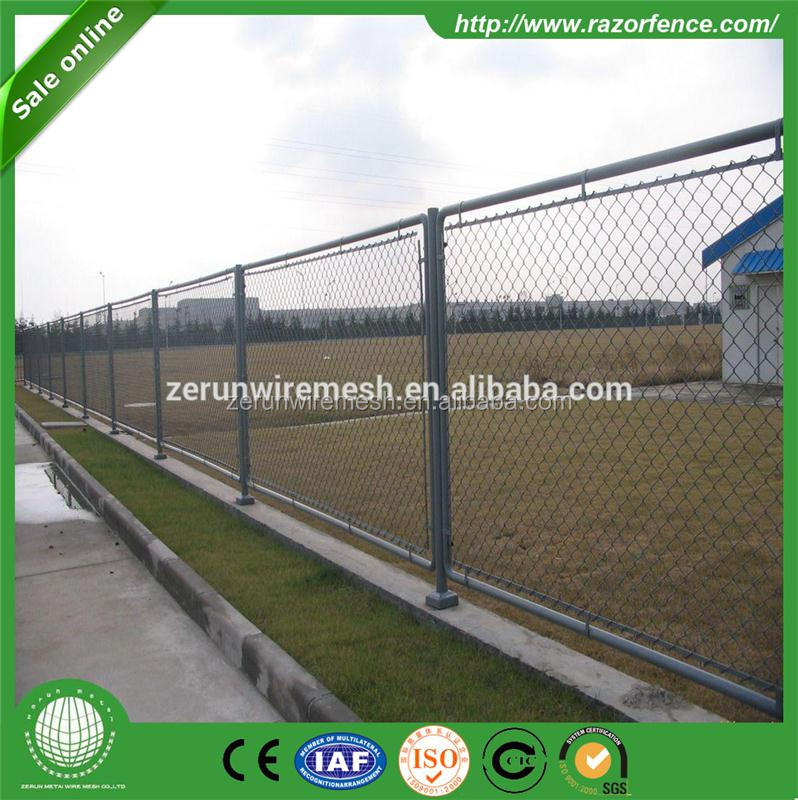 construction site 2016 new product Temporary Chain Link Fencing & Temp Fence Panels for the USA from Anping