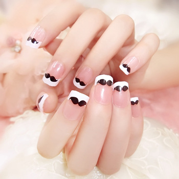 Nail Art Fashion Lovely Finished Paste A Variety Of Styles Simple False Nails Set