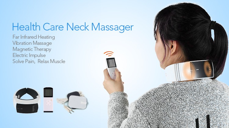 Wireless Remote Control Health Care Neck Massager (2)