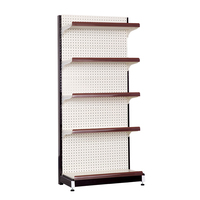 colorful supermarket beauty supply store shelf with dividers