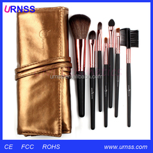 Free sample ds cosmetic barber powder neck brush cosmetics brushes