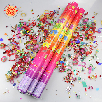 Exploding Party Popper With Confetti And Streamer Stock ... |Party Poppers Streamers