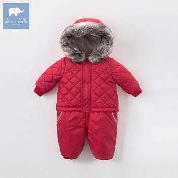 8c262023c85f Dave Bella winter new born unisex boys girls fashion red romper ...