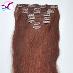 Gold 100% Peruvian Human Clip In Hair Extension