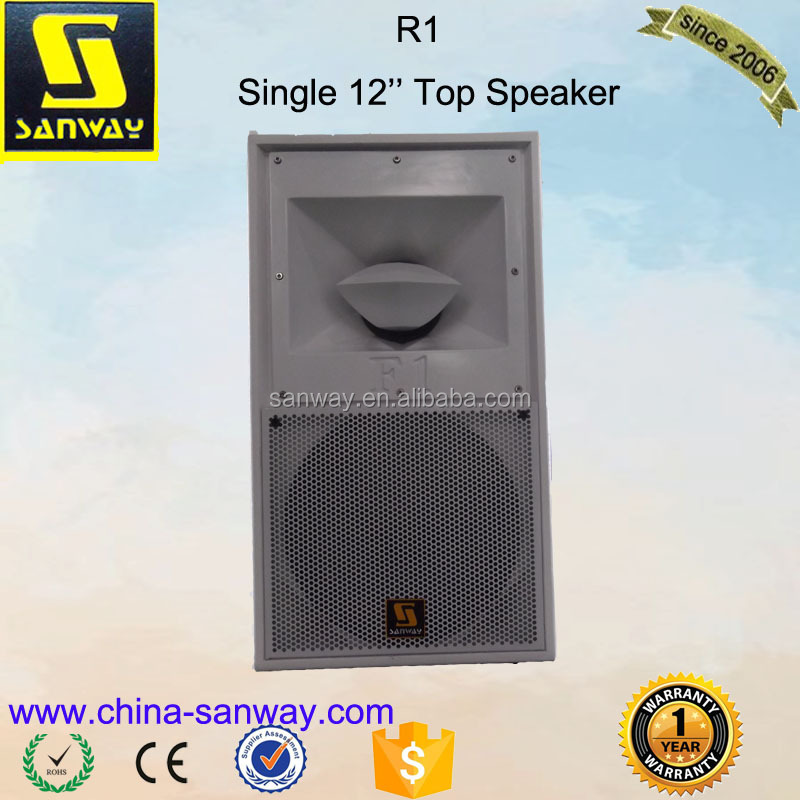 R1single 12'' Acoustic Audio Pro Tech Speakers