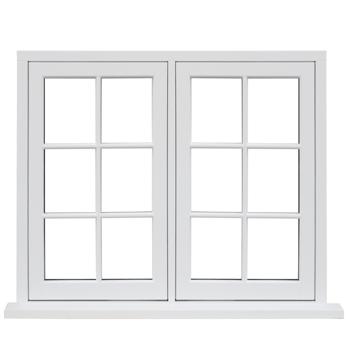 Aluminum sliding window special design grill design windows