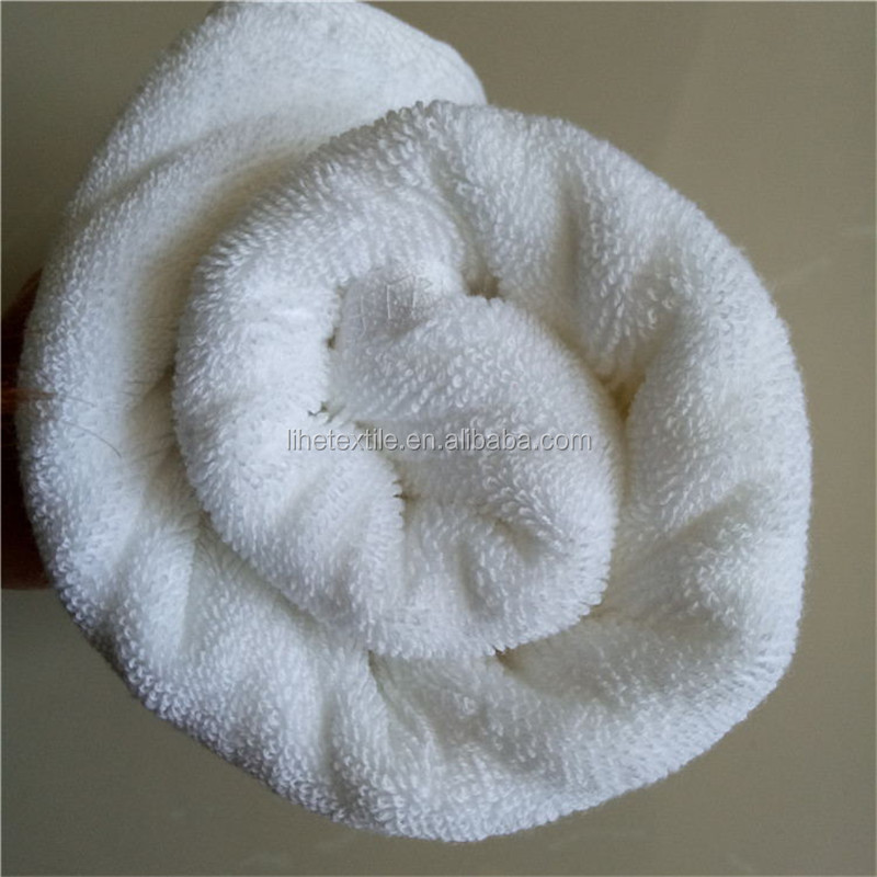 100% Cotton Face /Sport Towel White Wash Cloth With Custom Logo