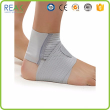 Professional hot sale china factory grey/blue nylon.neoprene golf ankle support