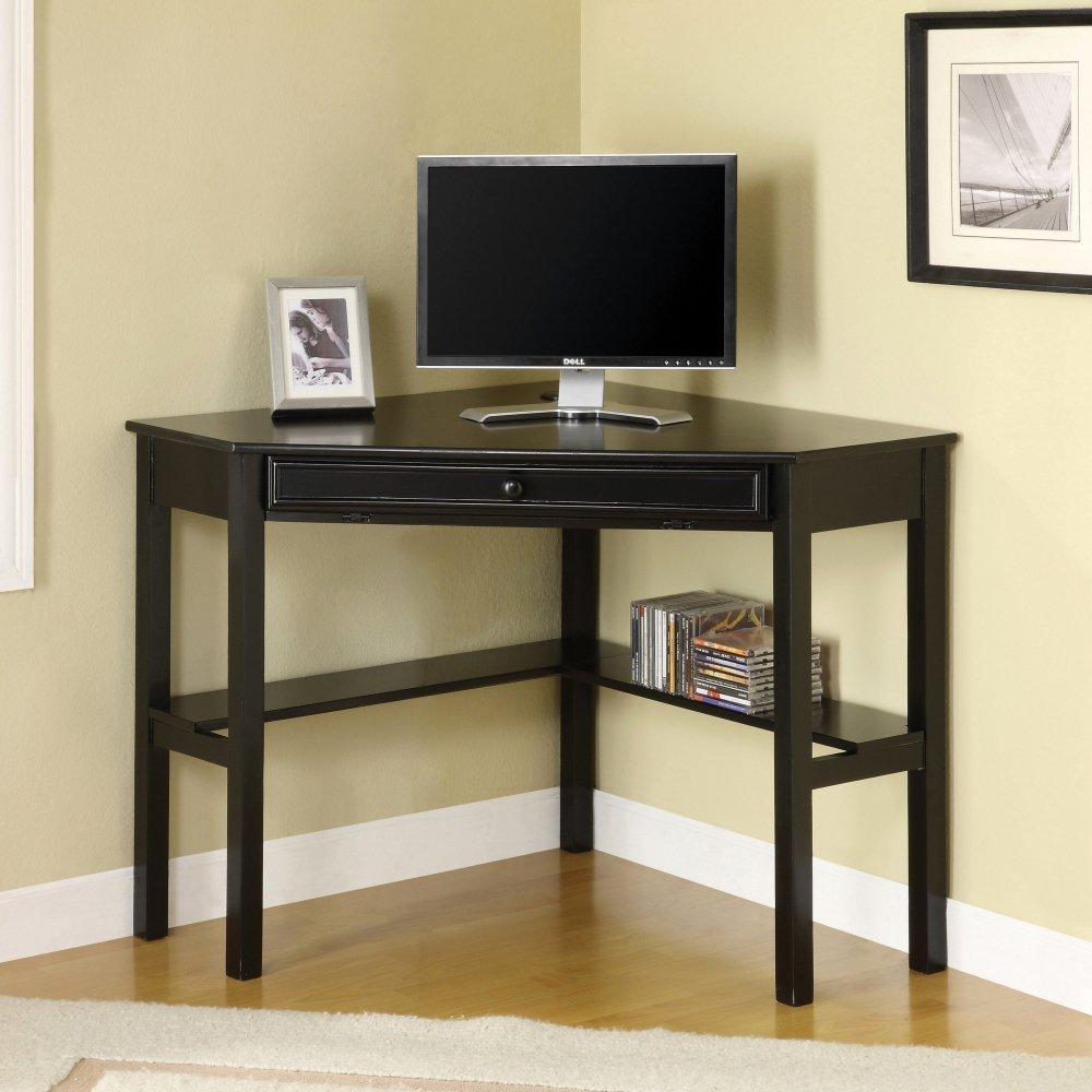Furniture of America Romy Solid wood Corner Office Table
