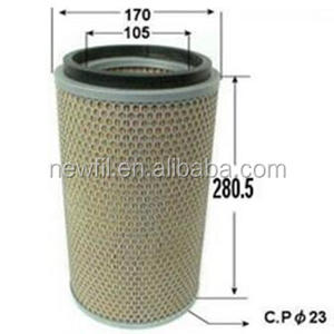 Hino air filter 17801-2120 used for bus & coach