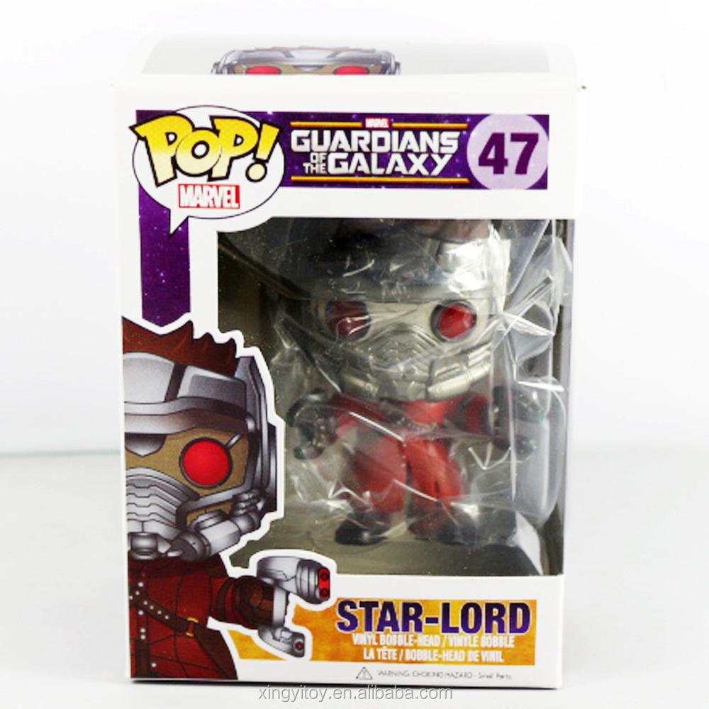 New Funko Pop! Star-lord Marvel Guardians Of The Galaxy Pop #47 ...