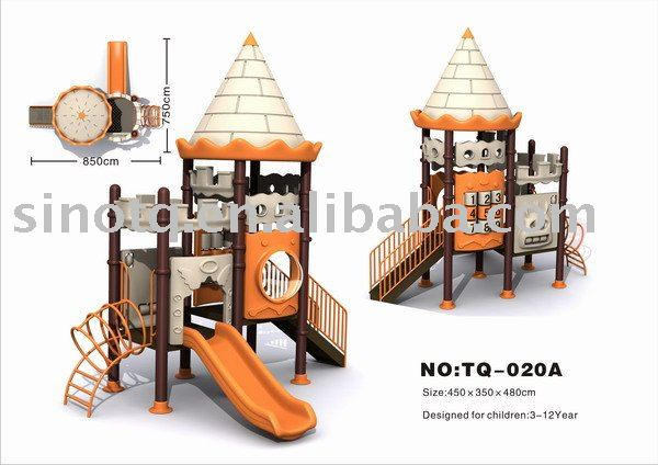 2017 outdoor playground equipment TQ-020A