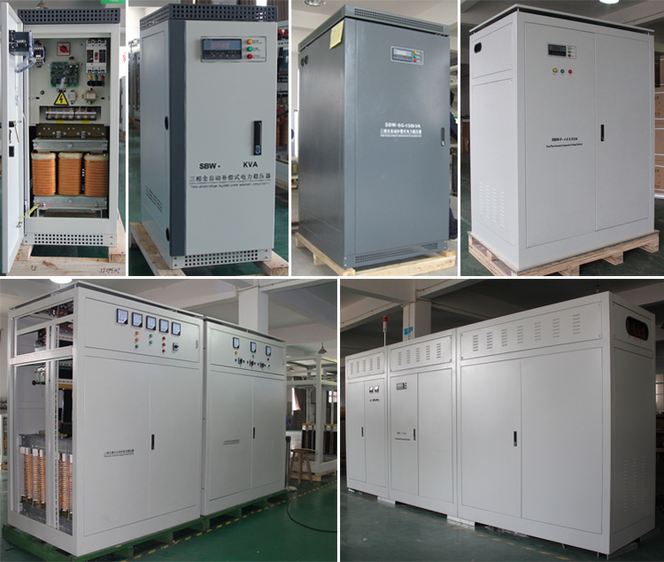 Full Automatic Compensation Type Voltage Stabilizer SBW-50kva