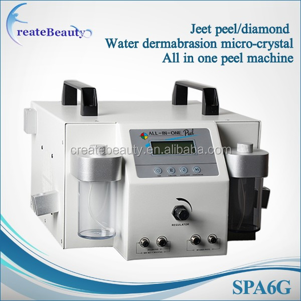 best selling 4 In 1 Jet Peel micro-crystal Diamond Dermabrasion Beauty Machine