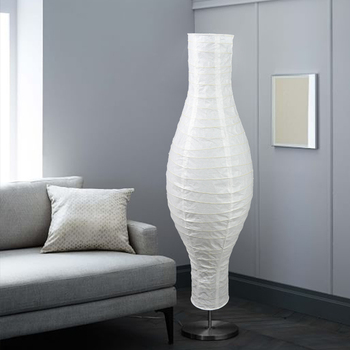 Supplies Indoor Decorative Filament White Paper Standing Floor Lamp Shades