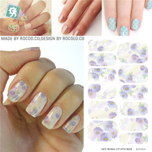 Nail art nail stickers and water transfer printing accessories for waterproofing volume  modified from Nail Polish KH015A