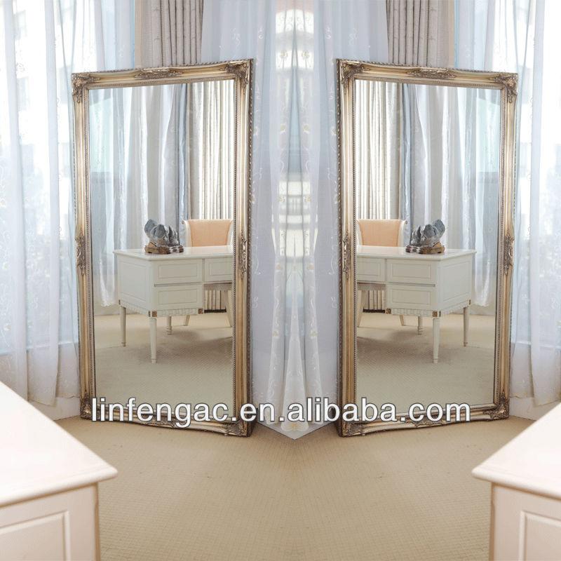 Madera muebles de salón barato peluquería espejos diseños de Suzhou ...