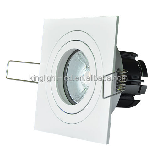 very competitive prices 8W square LED Downlight 35 degree 45 degree cheap led ceiling light lamp