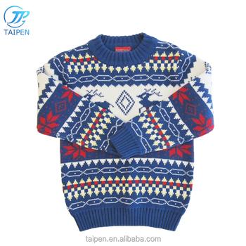 Muchachos Del Invierno Suéter Tejido Diseños Para Niños Con Equipo ...