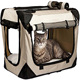 Black And Grey Bag Small Bike Dog Carrier