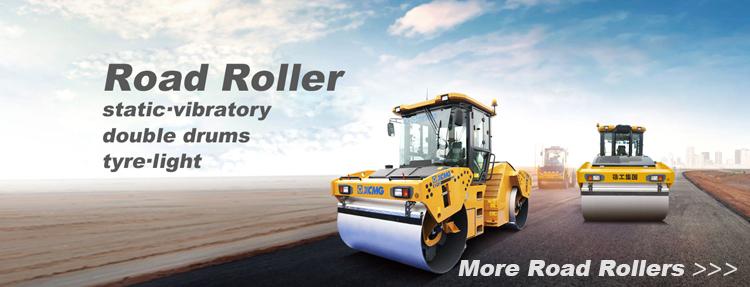 XCMG 14 Ton Peta Roller XS143J XS142J Tunggal Drum Roller Compactor Getaran Tanah Roller