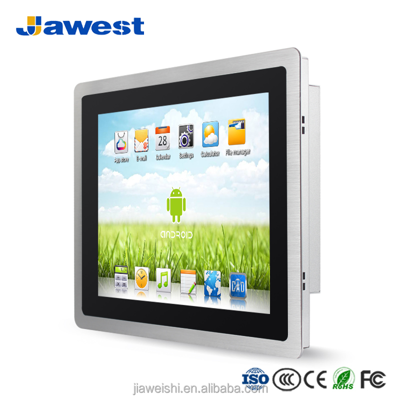 2018 neue 12 zoll Panel Computer Dünne Lünette Embedded IP66 Touchscreen Industrie Android Tablet PC