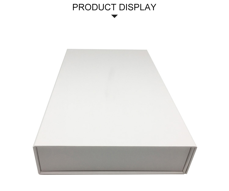 Wholesale promotional white paper carton display box for packing