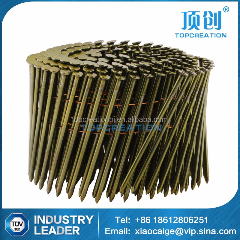 15 degree bulk pallet coil nails supplier in China