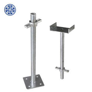 Galvanized types of screw jack for scaffolding