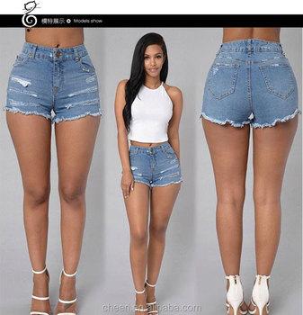 HT-WJS025 Sexy lady girls mini short jeans women denim shorts hole latest  jeans tops e97d0fac19e4