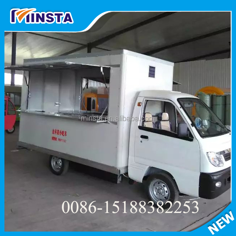 mobile food cart,food van/street food vending cart,hot dog cart/mobile food trailer with big wheels
