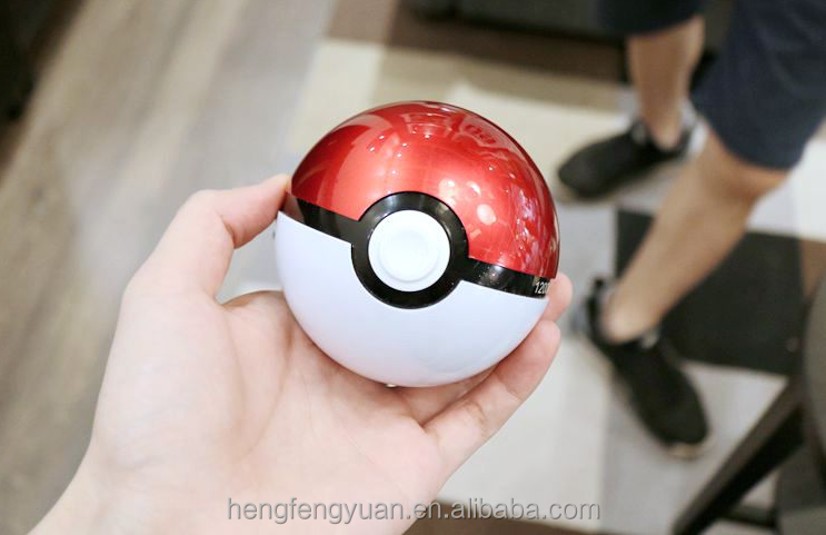The Most Popular Game Pokemon Go Pokeball Power Bank 12000mAh Poke Ball Charger