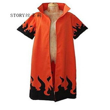 Japan Japanse karakter Naruto Rokudaime 6th Hokage Jacket Cosplay <span class=keywords><strong>Mantel</strong></span> Uniform anime kostuum