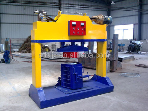 Concrete u shaped channel forming machine for water drainage