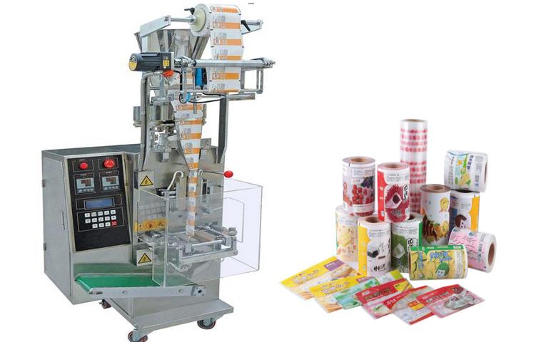 stampato rotolo di plastica in polietilene alimentare