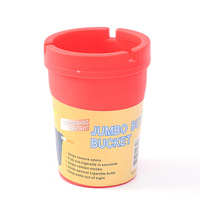 JL-086S Wholesale Custom Logo Butt Bucket Ashtray Plastic PVC Car Cup Ashtray