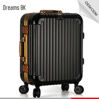 High Quality luggage trolley bags fashion luggage travel bags cheap aluminum luggage case