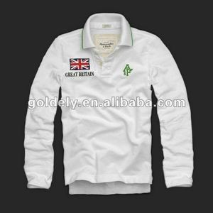uk garments men's polo long sleeve