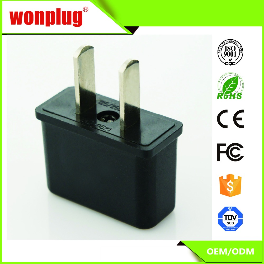 Wonplug high quality supplier top good selling American 110v plug
