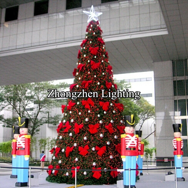 New Style 2018 Christmas Tree Giant Outdoor Commercial Lighted Product On Alibaba