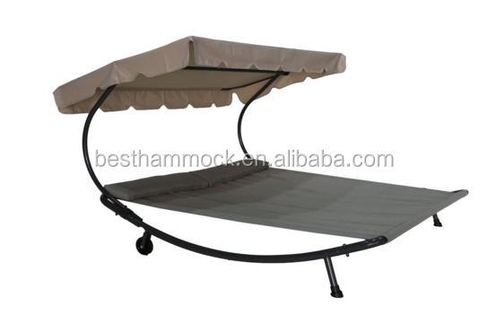 Patio Outdoor Portable Double Chaise