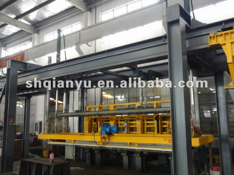 AAC Foam Concrete Light Weight Block Making Plant, AAC Production Line