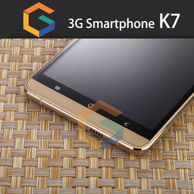 GST Latest K7 Android 3G Smart Phone Build in WIFI GPS Bluetooth 6.0inch Smart Mobile Phone android 5.1OS