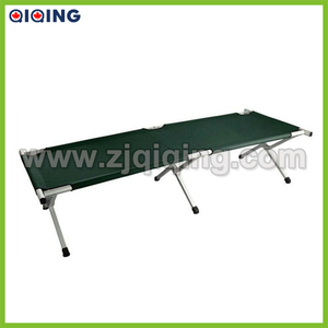 Military green metal bed,Folding camping bed HQ-8001I