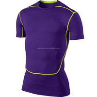 china sports wear compression t-shirt , men running wear
