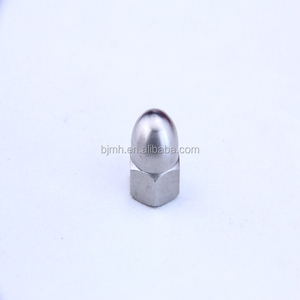 Customized Gr5 high quality titanium fasteners cap nuts for motorcycle parts