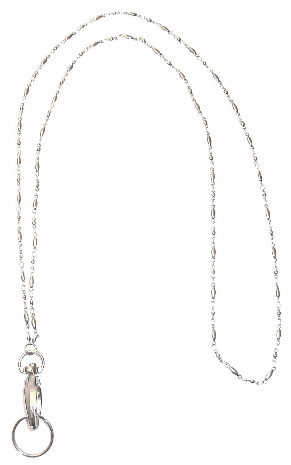 Hidden Hollow Beads Women's strong lanyard Non Breakaway - Stronger (Stainless Steel)