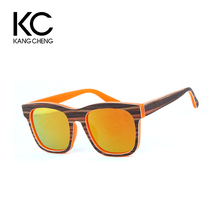 China Cheap Custom Fashion Wooden Frame Bamboo Temple Mens Sunglasses