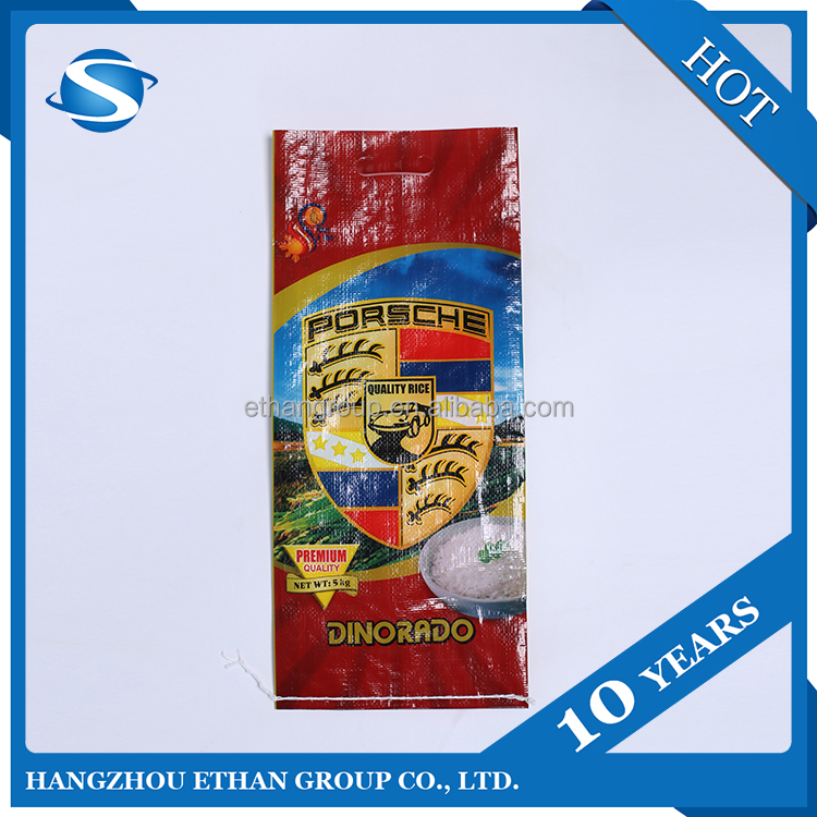 High Quality Lamination Pp 50kg Grain Bags New Design From China